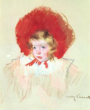 Mary Cassatt : Child with a Red Hat