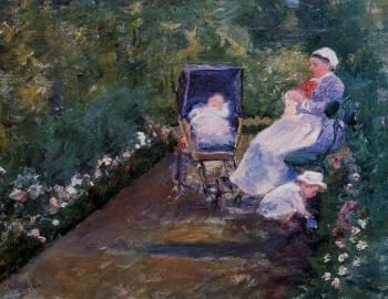 Mary Cassatt : Children in a Garden