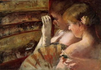 Mary Cassatt : In the Box
