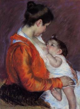 Mary Cassatt : Louise Nursing Her Child