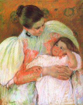 Mary Cassatt : Nurse and Child