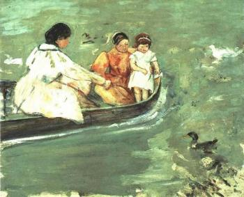 Mary Cassatt : On the Water