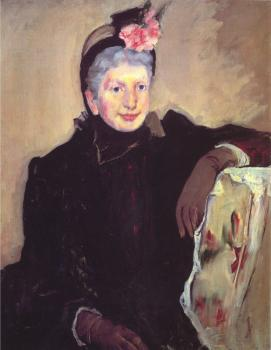 Mary Cassatt : Portrait of an Elderly Lady