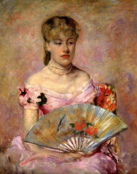 Mary Cassatt : Portrait of Anne Charlotte Gaillard