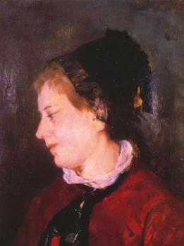 Mary Cassatt : Portrait of Madame Sisley