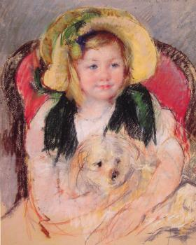 Mary Cassatt : Sara with Her Dog