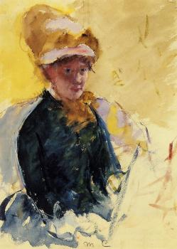 Mary Cassatt : Self-Portrait, II