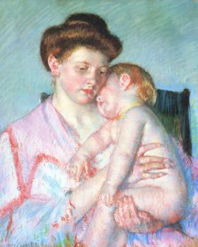 Mary Cassatt : Sleepy Baby