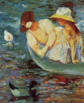 Mary Cassatt : Summertime