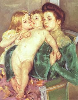 Mary Cassatt : The Caress II