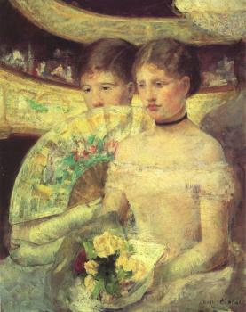 Mary Cassatt : The Loge