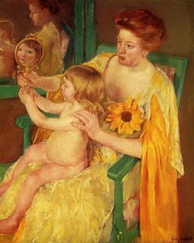 Mary Cassatt : The Mirror