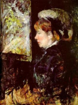 Mary Cassatt : The Visitor