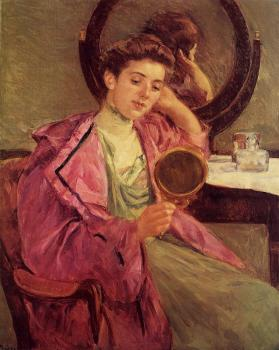 Mary Cassatt : Woman at Her Toilette