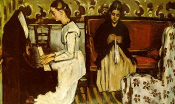 Paul Cezanne : Girl at the Piano (Ouverture to Tannhauser)