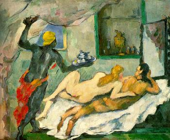 Paul Cezanne : Afternoon in Naples (Rum Punch)