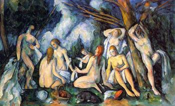 Paul Cezanne : The Large Bathers