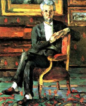 Cezanne, Paul - Portrait Of Victor Chocquet Seated
