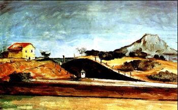 Paul Cezanne : The Railway Cutting