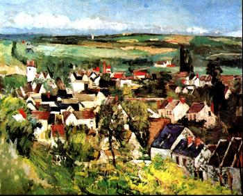 Cezanne, Paul - View of Auvers