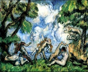 Paul Cezanne : Bacchanal (The Love Battle)