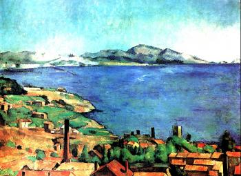 Paul Cezanne : The Bay of Marseilles, view from L'Estaque