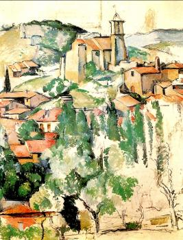 Paul Cezanne : The Village of Gardanne