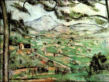 Cezanne, Paul - Mont Sainte-Victoire with Large Pine