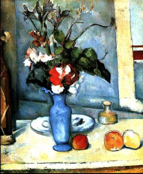 Cezanne, Paul - The Blue Vase (Le Vase Bleu)