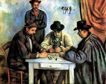 Paul Cezanne : The Card Players