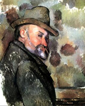 Paul Cezanne : Self-Portrait in a Felt Hat