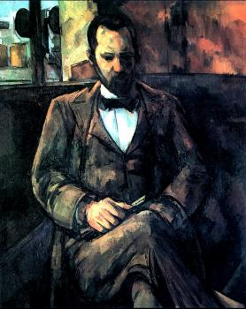 Paul Cezanne : Portrait of Ambroise Vollard