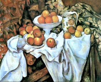 Paul Cezanne : Apples and Oranges