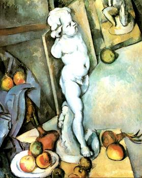 Paul Cezanne : Still Life with Cherub