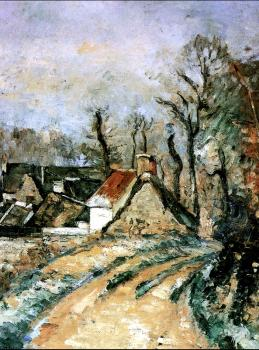 Paul Cezanne : The Turn in the Road at Auvers