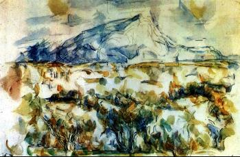 Paul Cezanne : Mount Sainte-Victoire
