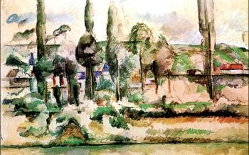 Paul Cezanne : The Chateau de Medan