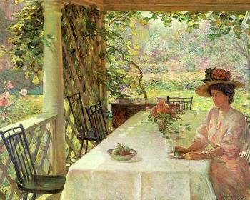 William Chadwick : On the Porch