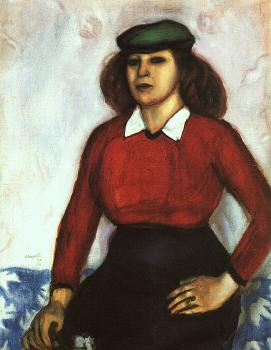 Portrait of the Artist's Sister (Aniuta)