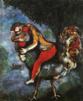 Marc Chagall : The Rooster