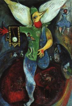 Marc Chagall : The Juggler