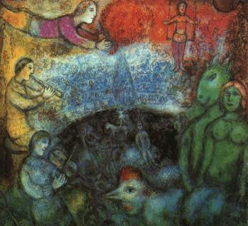 Marc Chagall : The Grand Parade