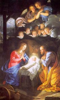 Philippe De Champaigne : The Nativity