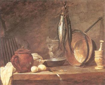 Jean Baptiste Simeon Chardin : The Fast Day Meal