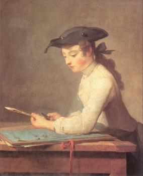 Jean Baptiste Simeon Chardin : The Young Draughtsman