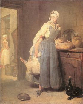 Jean Baptiste Simeon Chardin : The Return from Market