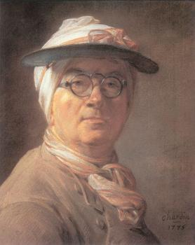 Self-Portrait with an Eye-Shade