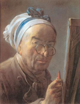 Self-Portrait at an Easel