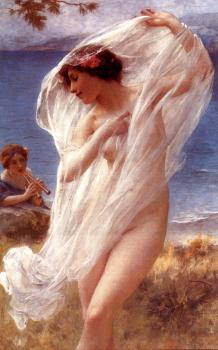 Charles Amable Lenoir : A Dance By The Sea