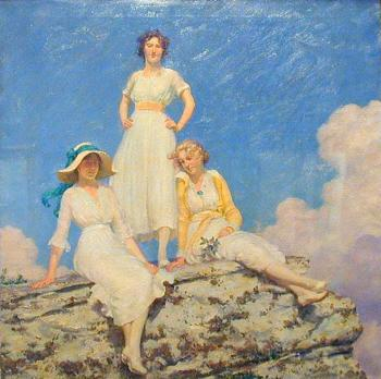 Charles Courtney Curran : Noonday Sunlight